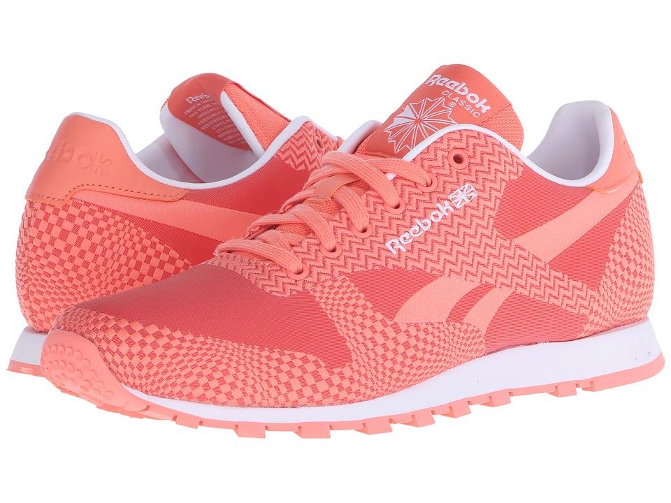 Reebok Lifestyle - Classic Runner Summer Brights (Coral/Rosette/White) Women