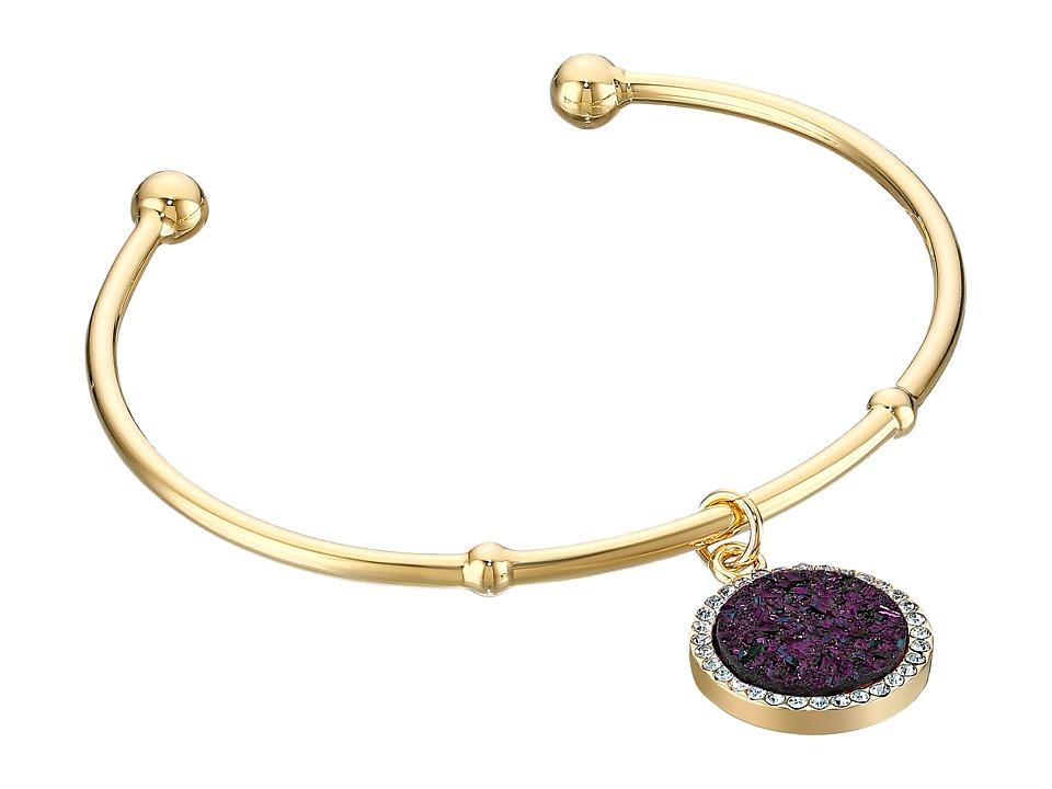 Kate Spade New York All That Glitters Druzy Cuff Bracelet Mauve Bracelet