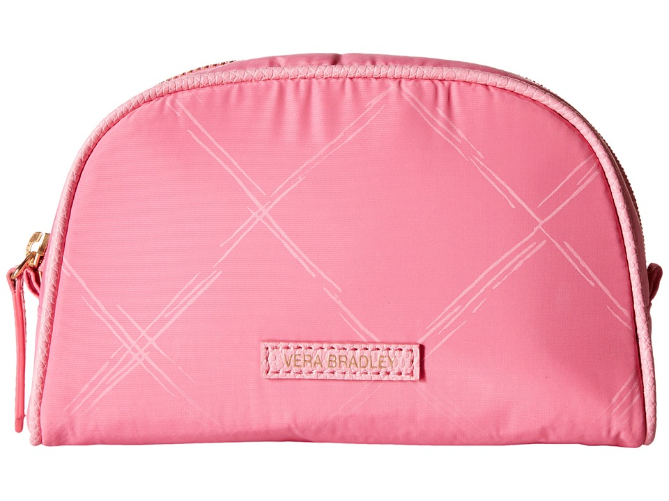 Vera Bradley Luggage Preppy Poly Small Cosmetic Blossom Pink Cosmetic Case