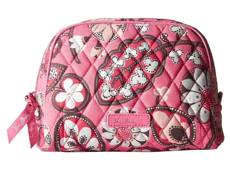 Vera Bradley Luggage Medium Zip Cosmetic Blush Pink Cosmetic Case