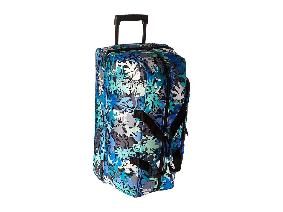 Vera Bradley Luggage Lighten Up Large Wheeled Duffel (Camo Floral) Duffel Bags