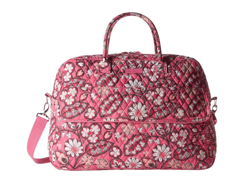 Vera Bradley Luggage - Grand Traveler (Blush Pink) Duffel Bags