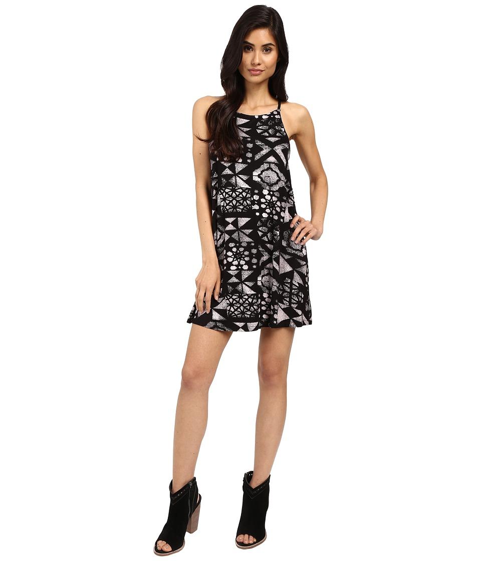 RVCA Elixir Dress Black Womens Dress