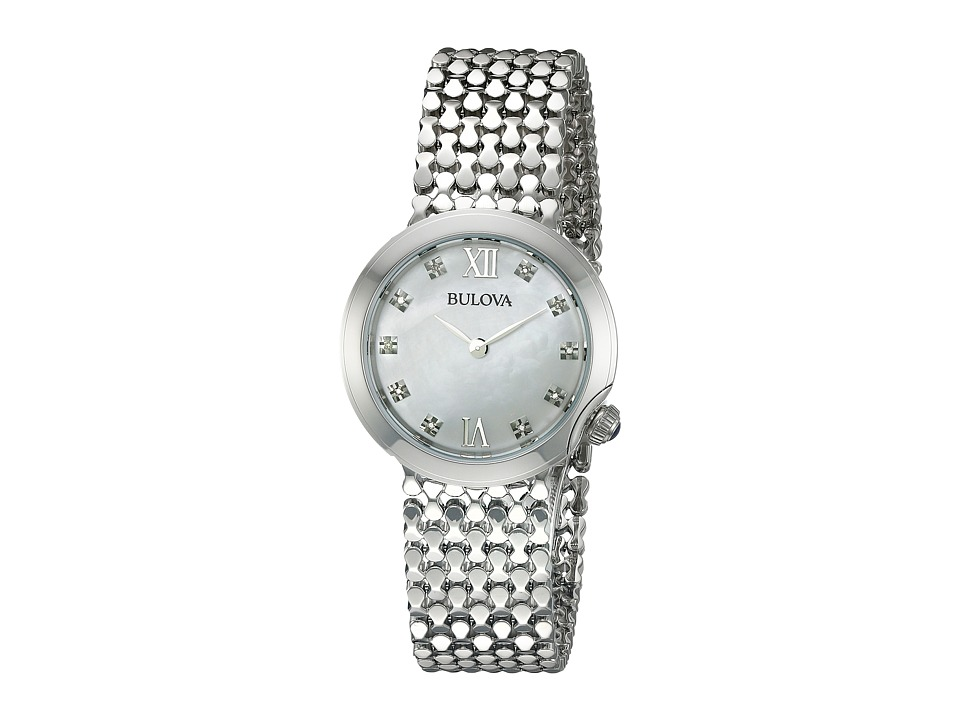 Bulova Diamonds 96P163 White Watches