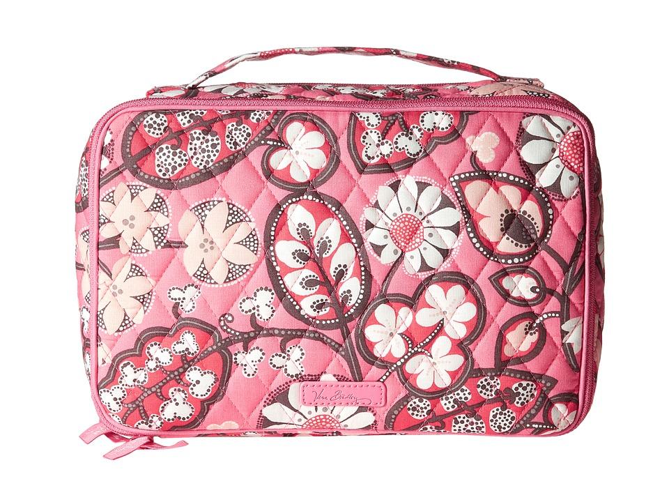 Vera Bradley Luggage - Large Blush Brush Makeup Case (Blush Pink) Bags