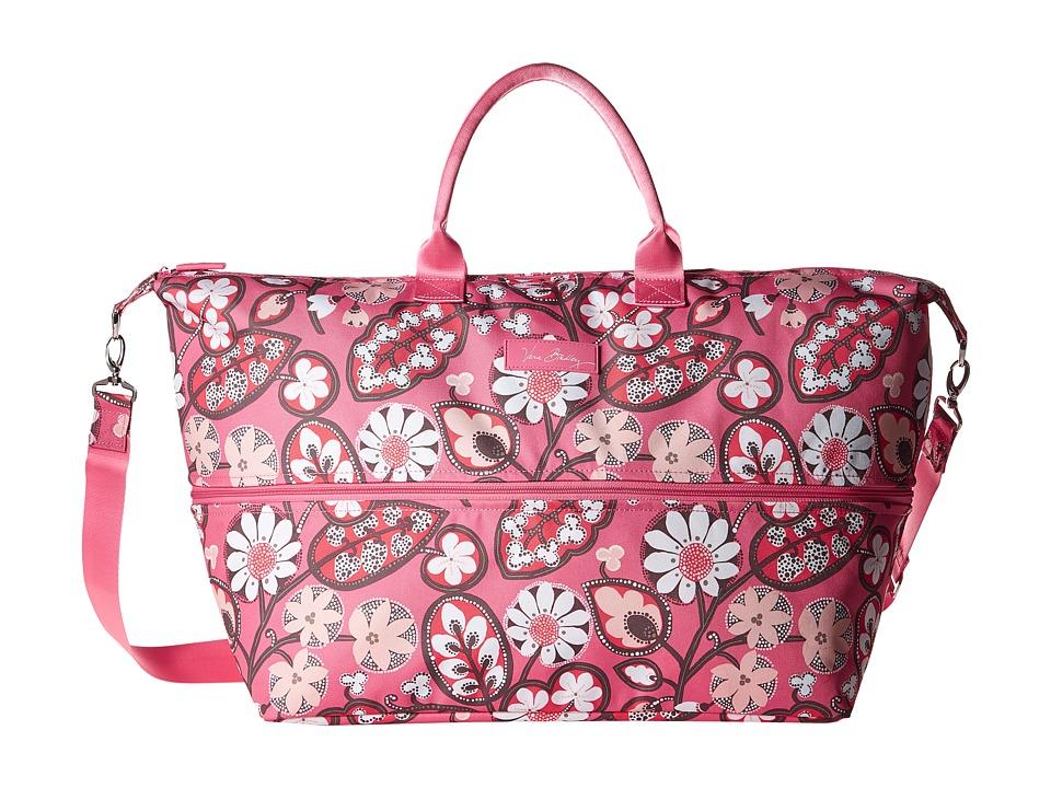 Vera Bradley Luggage - Lighten Up Expandable Travel Bag (Blush Pink) Bags