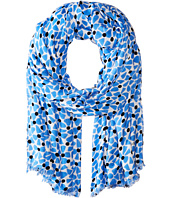 Kate Spade New York - Alice Bow Dot Oblong Scarf