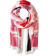 Kate Spade New York - Love Letters Oblong Scarf