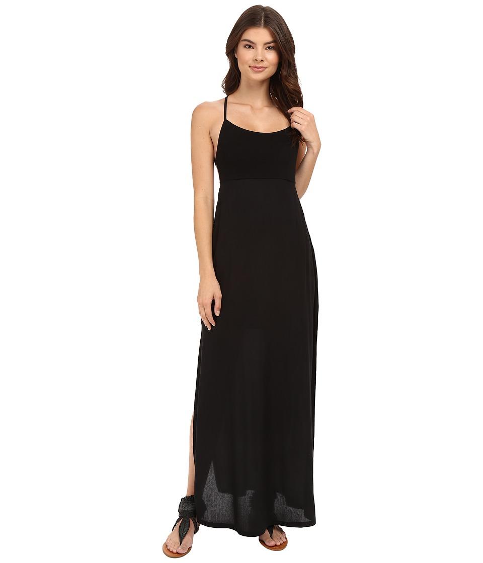 RVCA Kambria Maxi Dress Black Womens Dress