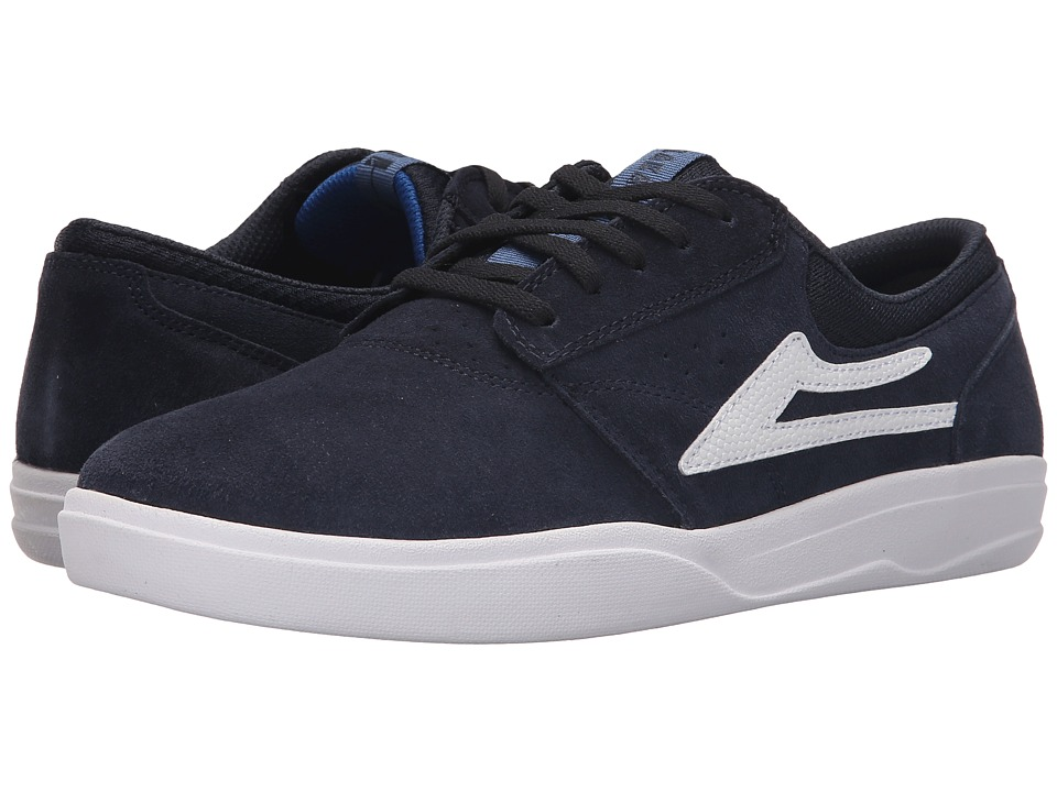Lakai Griffin XLK Navy Suede Mens Skate Shoes