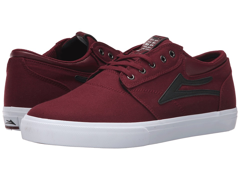 Lakai Griffin Port Canvas/Black Mens Skate Shoes