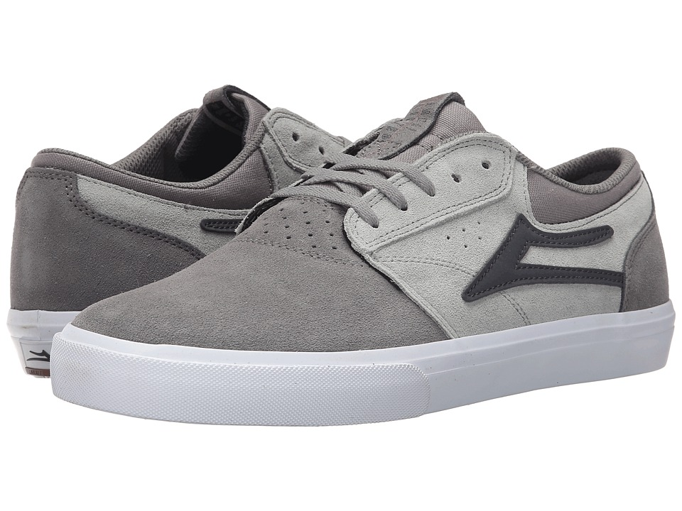 Lakai Griffin Grey Suede Mens Skate Shoes