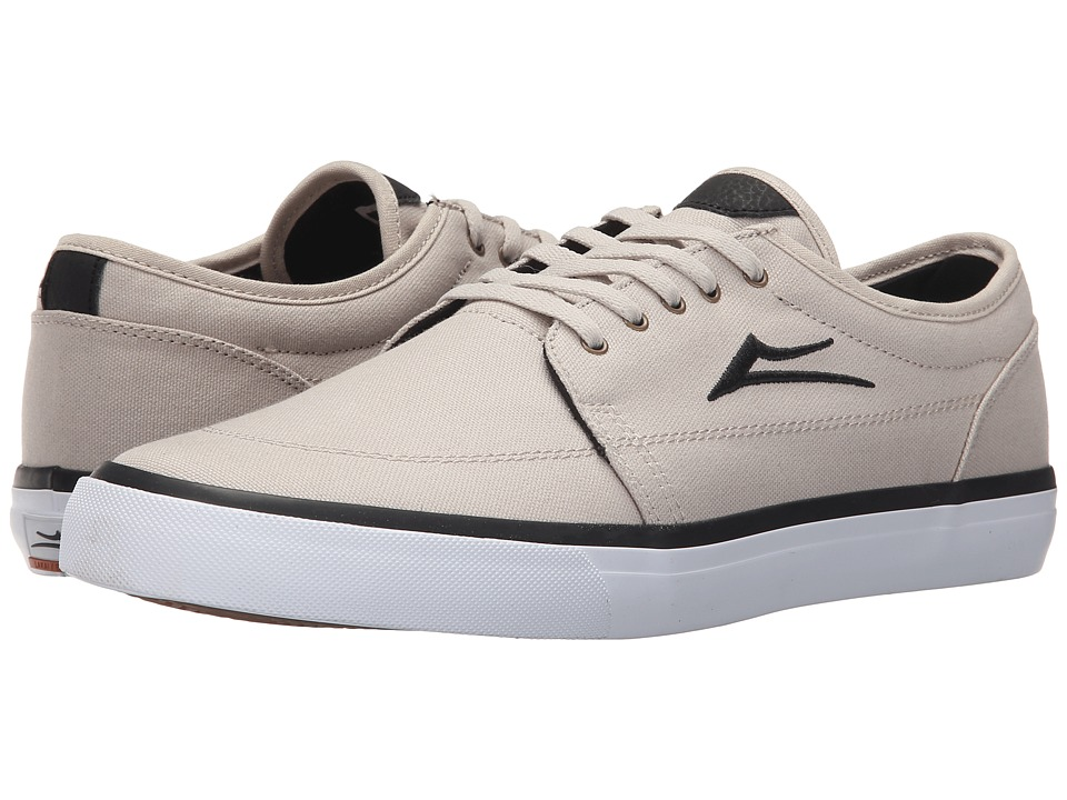 Lakai Madison Cream Canvas Mens Skate Shoes