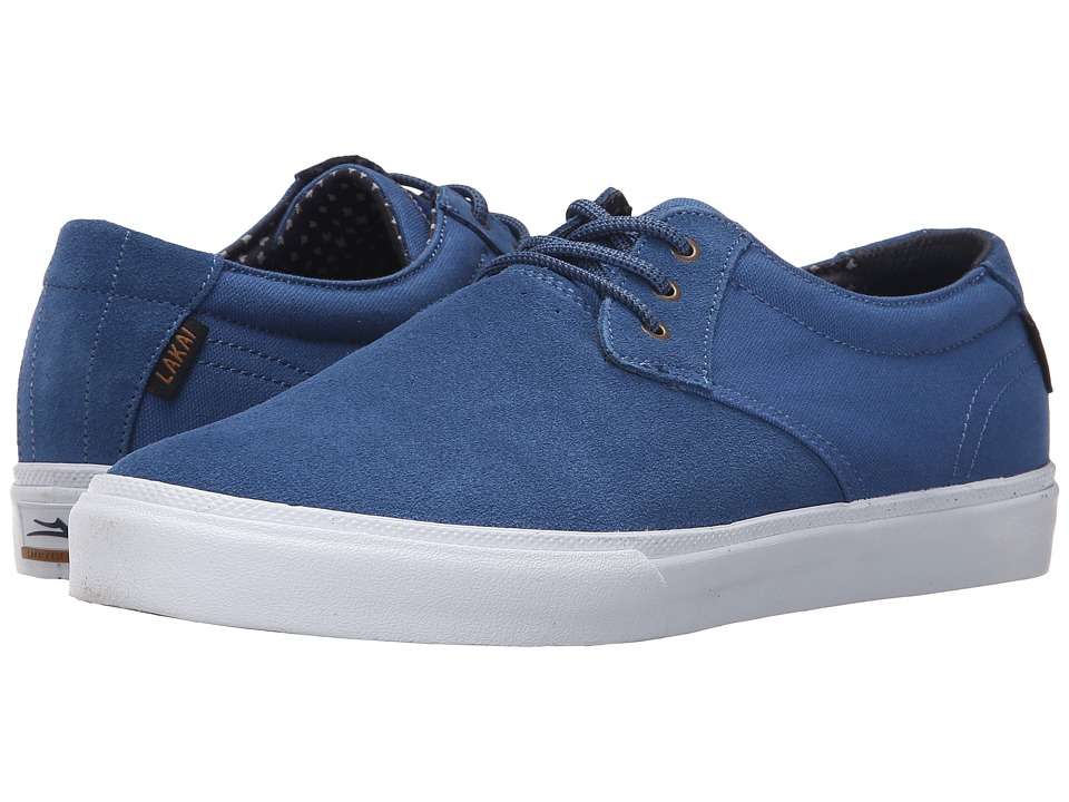Lakai MJ Blue Suede Mens Skate Shoes
