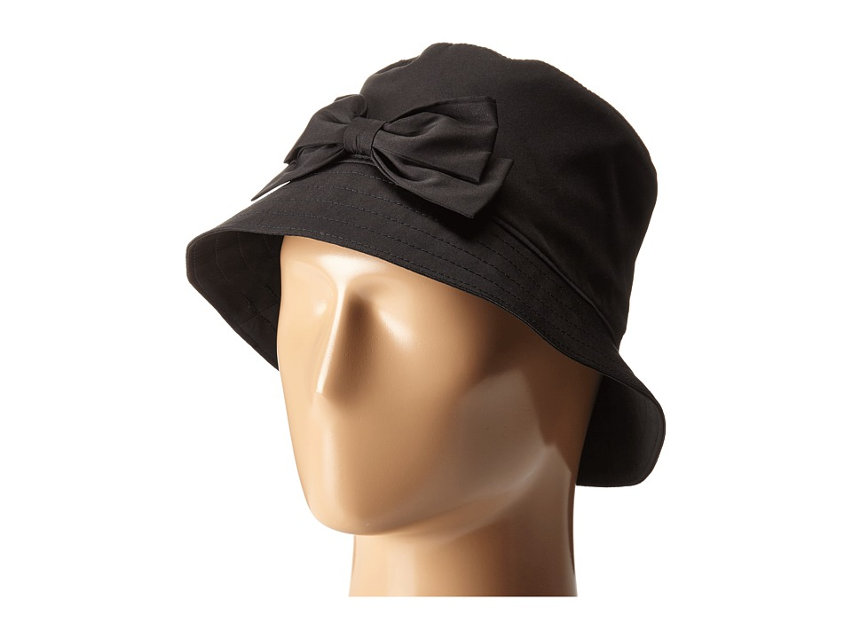 Kate Spade New York Multi Month Rain Bucket Hat Black Bucket Caps