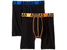 adidas Kids Sport Performance ClimaLite 2-Pack Midway (Big Kids)