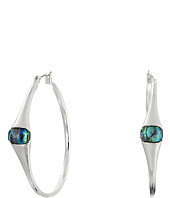 Robert Lee Morris - Abalone Hoop Earrings