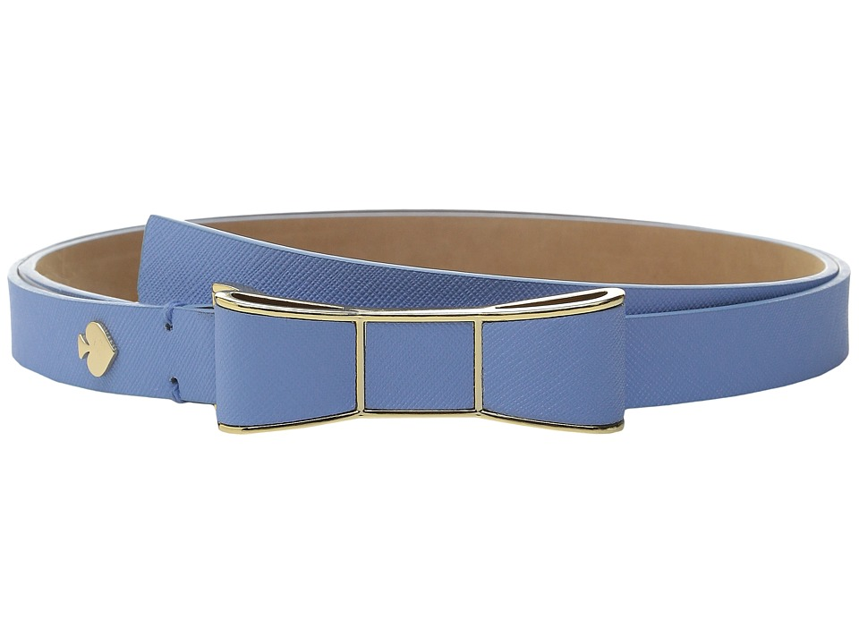 Kate Spade New York 20mm Bow Belt Alice Blue Womens Belts