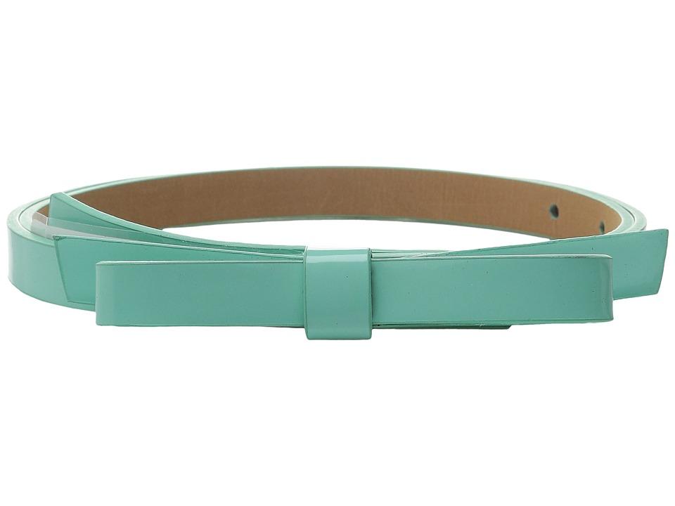 Kate Spade New York 16mm Classic Bow Belt Fresh Mint Womens Belts