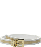 Kate Spade New York - 20mm Straw Reversible Belt