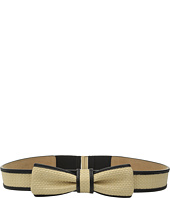 Kate Spade New York - 32mm Straw Bow Belt