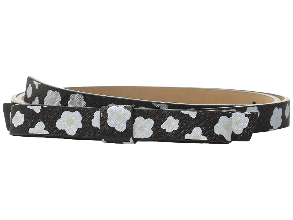 Kate Spade New York 16mm Naive Bow Belt Black Womens Belts