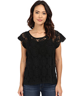 BCBGeneration - Embrace the Lace High-Low Poncho