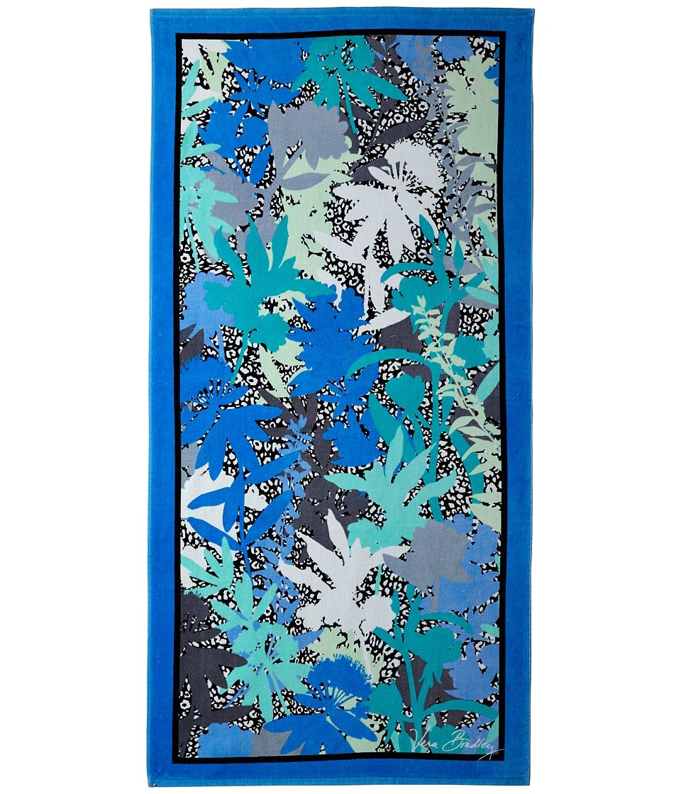 Vera Bradley Beach Towel Camofloral Cheetah Bath Towels