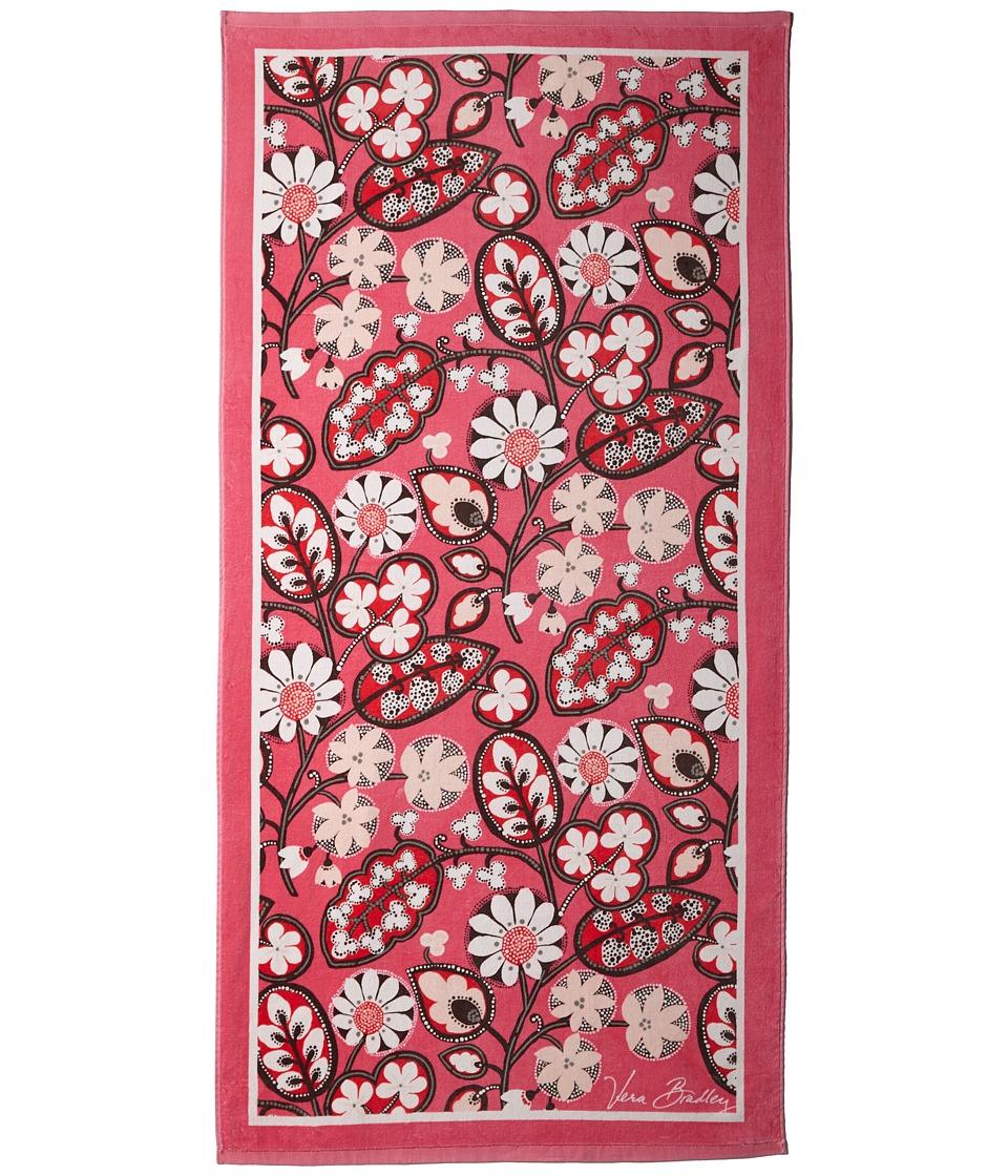 Vera Bradley Beach Towel Blush Pink Bath Towels