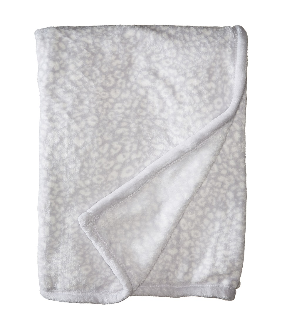 Vera Bradley Fleece Travel Blanket Camocat Gray Blankets