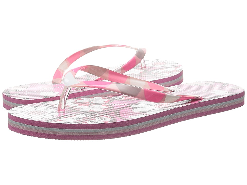 Vera Bradley Flip Flops Blush Pink Womens Slippers