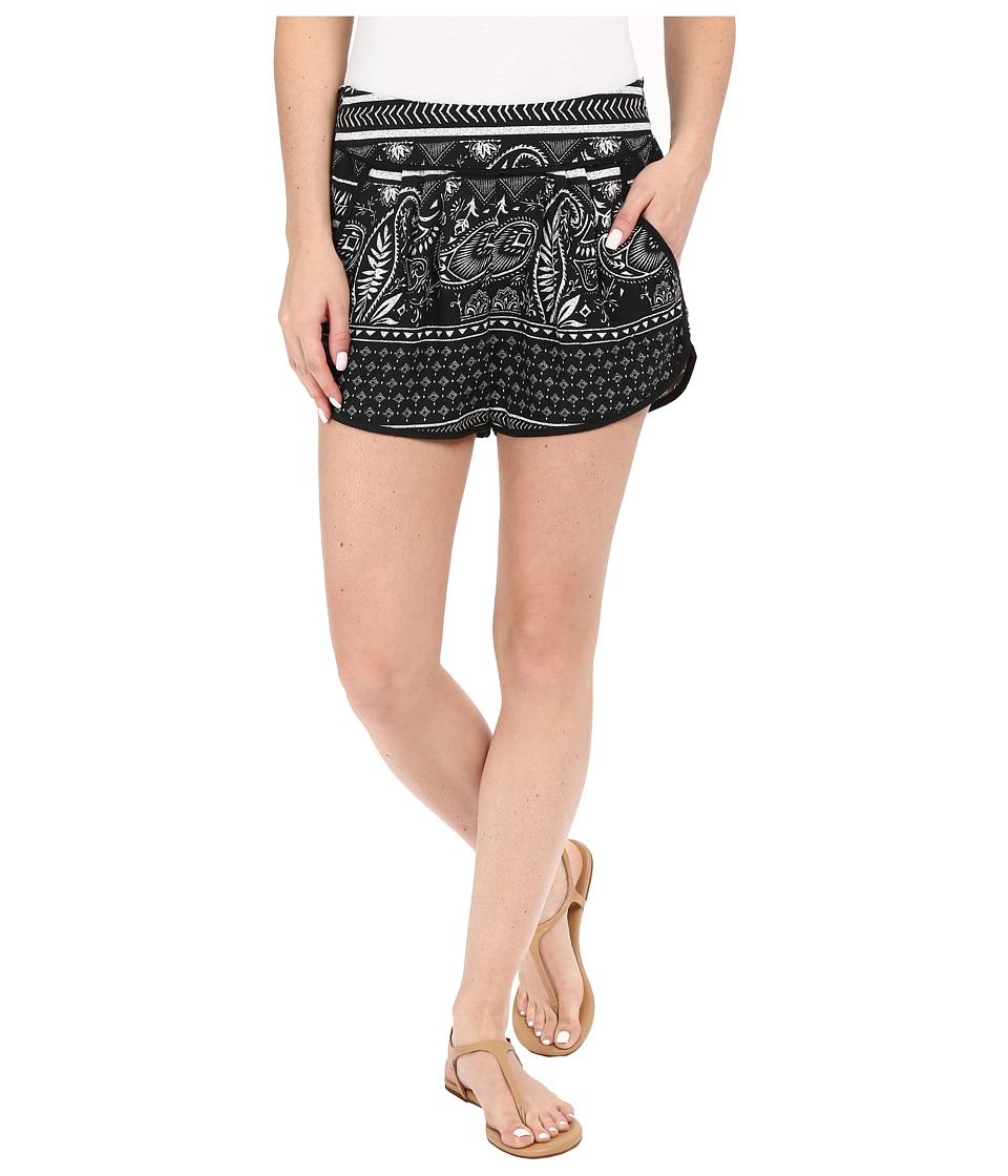Roxy Diamond Sky Shorts Cashmere Border Combo/True Black Womens Shorts