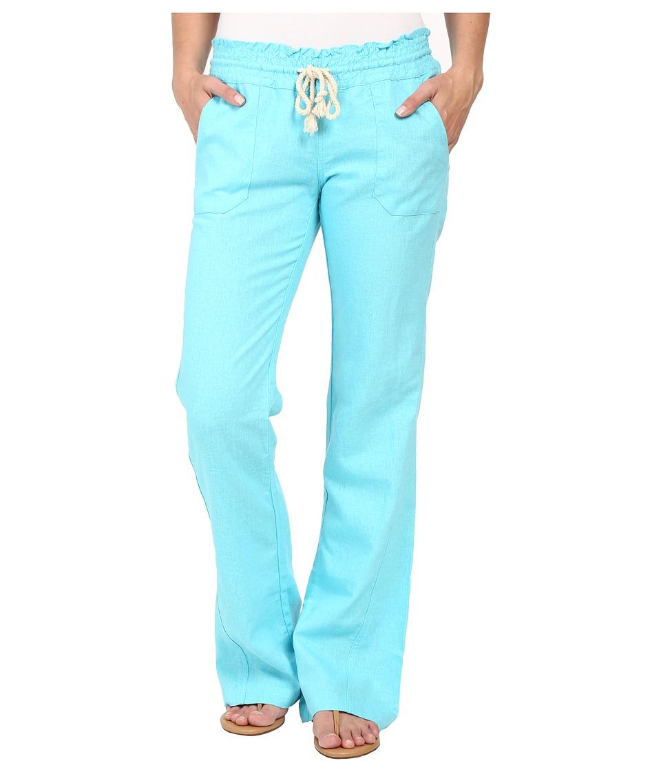 Roxy Ocean Side Pant Blue Radiance Womens Casual Pants