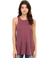 RVCA - Label High Neck Tunic Tank Top