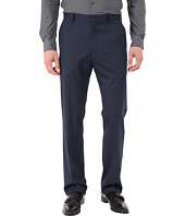 Perry Ellis - Solid Textured Flat Front Pants