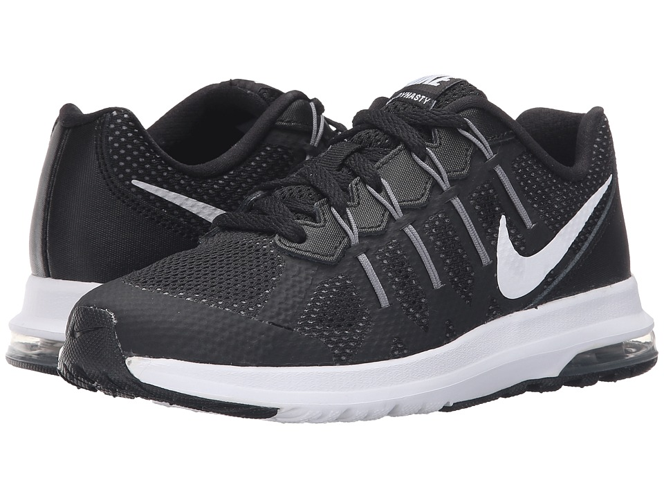 Nike Kids - Air Max Dynasty (Little Kid) (Black/White/Cool Grey/Anthracite) Boys Shoes