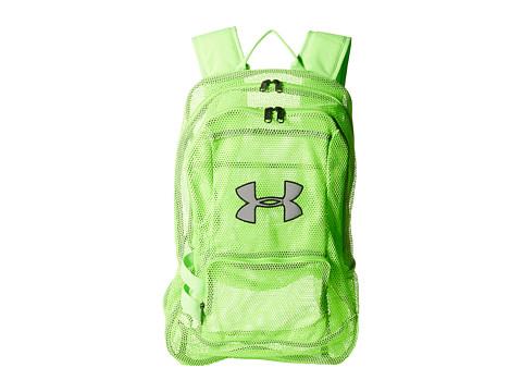 Under Armour UA Worldwide Mesh Backpack - Hyper Green/Hyper Green/Black