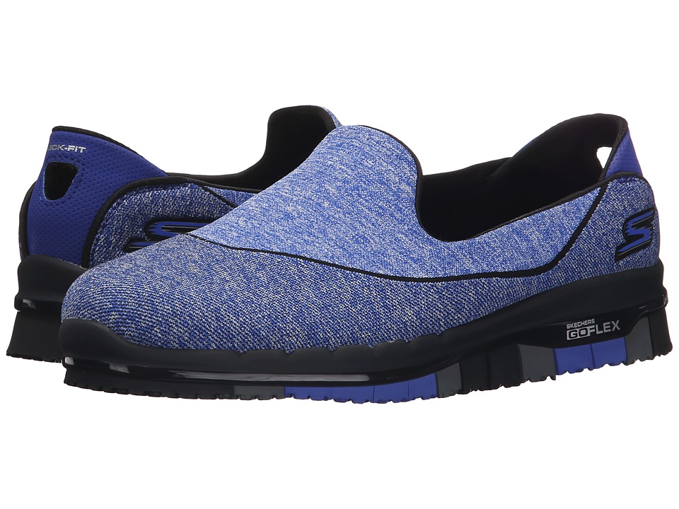 SKECHERS Performance Go Flex Stride Royal/Blue Womens Shoes