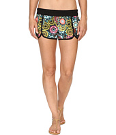 Hurley - Supersuede Printed Scallop Beachrider Boardshorts