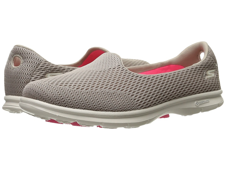 SKECHERS Performance - Go Step - Shift (Taupe) Womens  Shoes