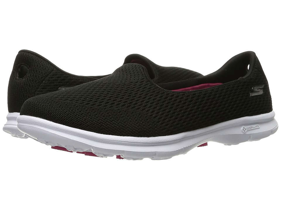 SKECHERS Performance - Go Step - Shift (Black/White) Womens  Shoes