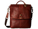 Will Leather Goods North/South Cross body (Cognac)