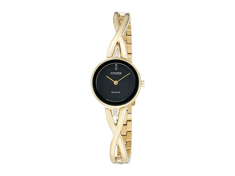Citizen Watches - EX1422-54E - Eco-Drive Silhouette (Gold Tone) Watches