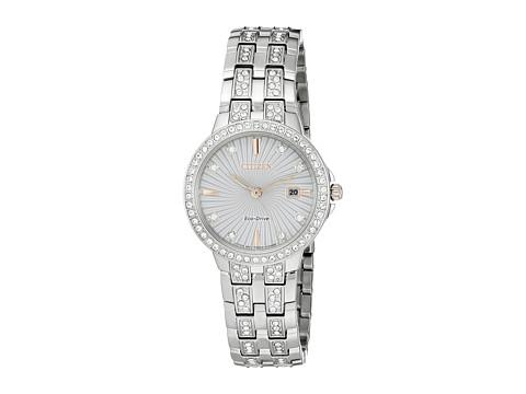 Citizen Watches EW2340-58A - Eco-Drive Silhouette - Silver Tone