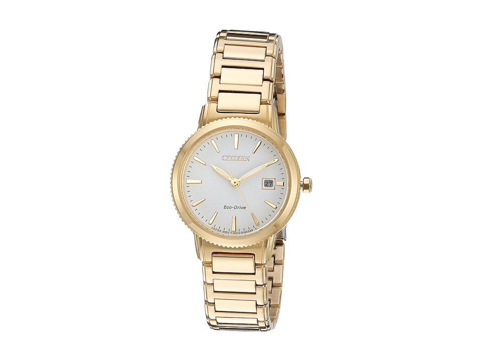Citizen Watches EW2372 51A Eco Drive Sport Gold Tone Watches