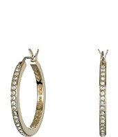Cole Haan - Crystal Hoop Earrings