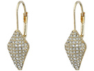 Cole Haan Pave Lever Back Drop Earrings