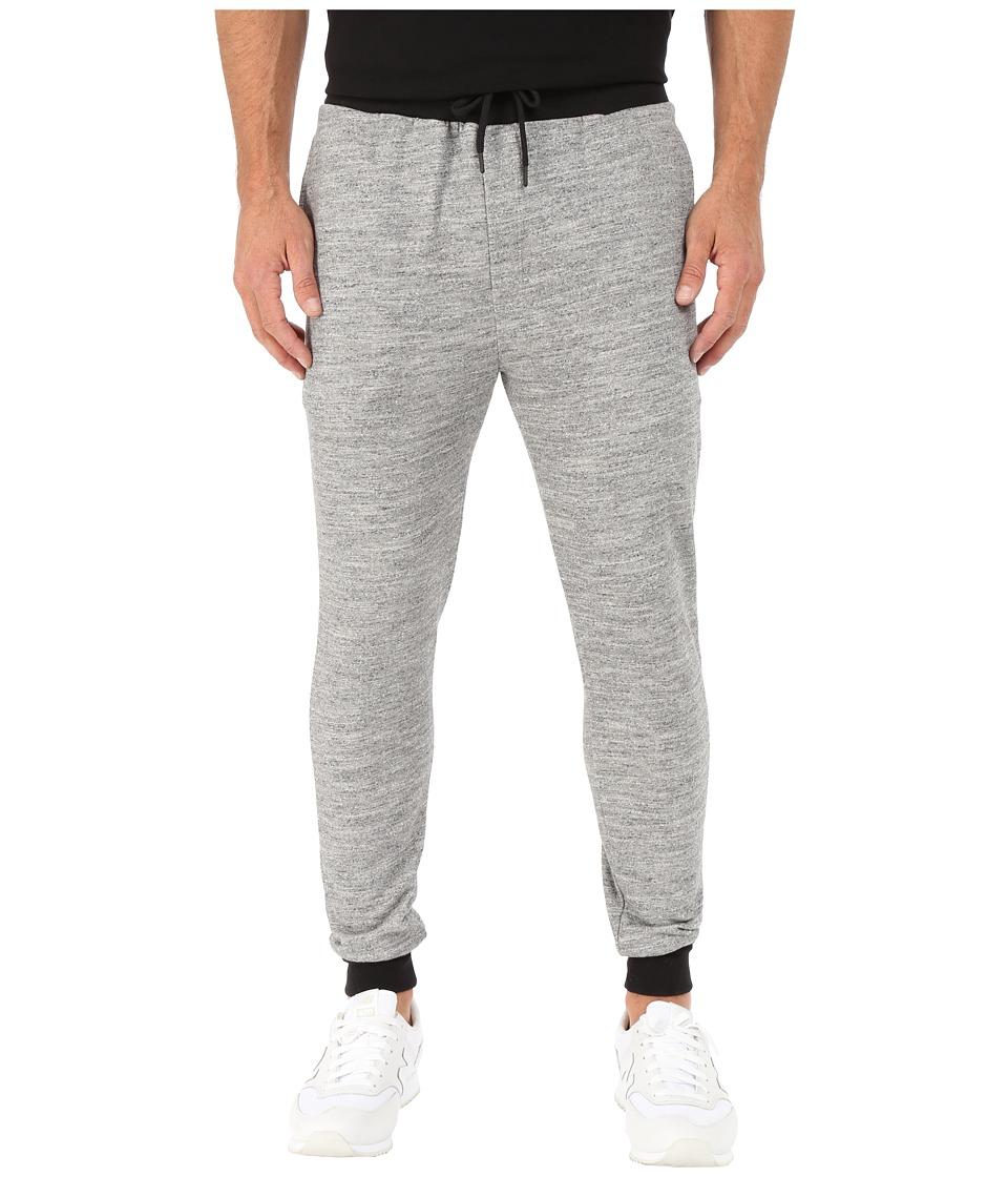 UNCL Highline Slub Jogger Pants Grey Mens Workout
