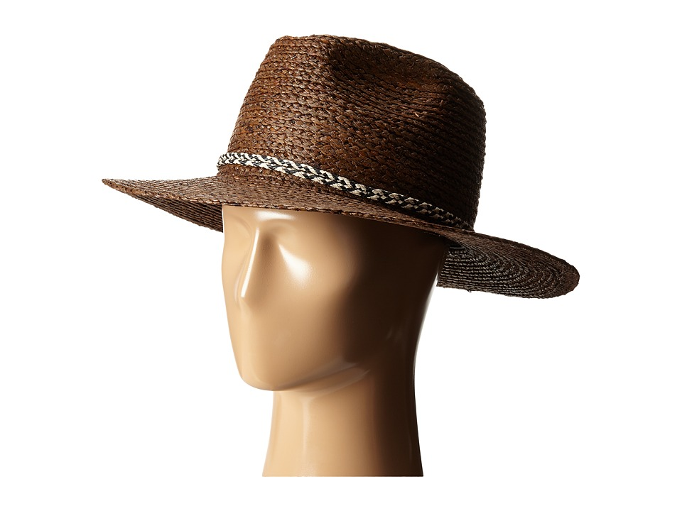 Brixton Booker Fedora Brown Fedora Hats