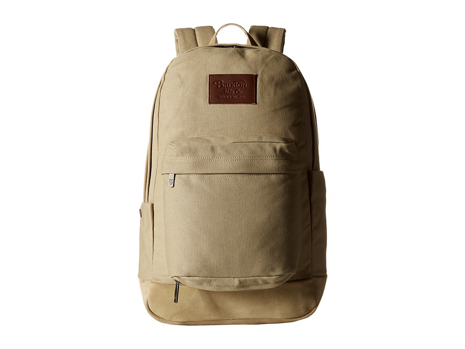 Brixton Basin Backpack Bone Backpack Bags